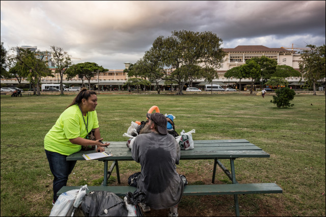 Homeless count 2014 Honolulu