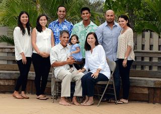 Duke Aiona family