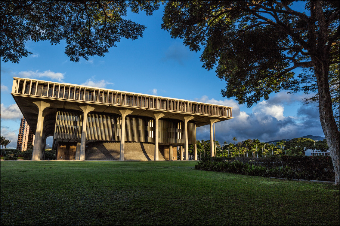 Hawaii State Capitol Building 1.10.14 ©PF Bentley/Civil Beat