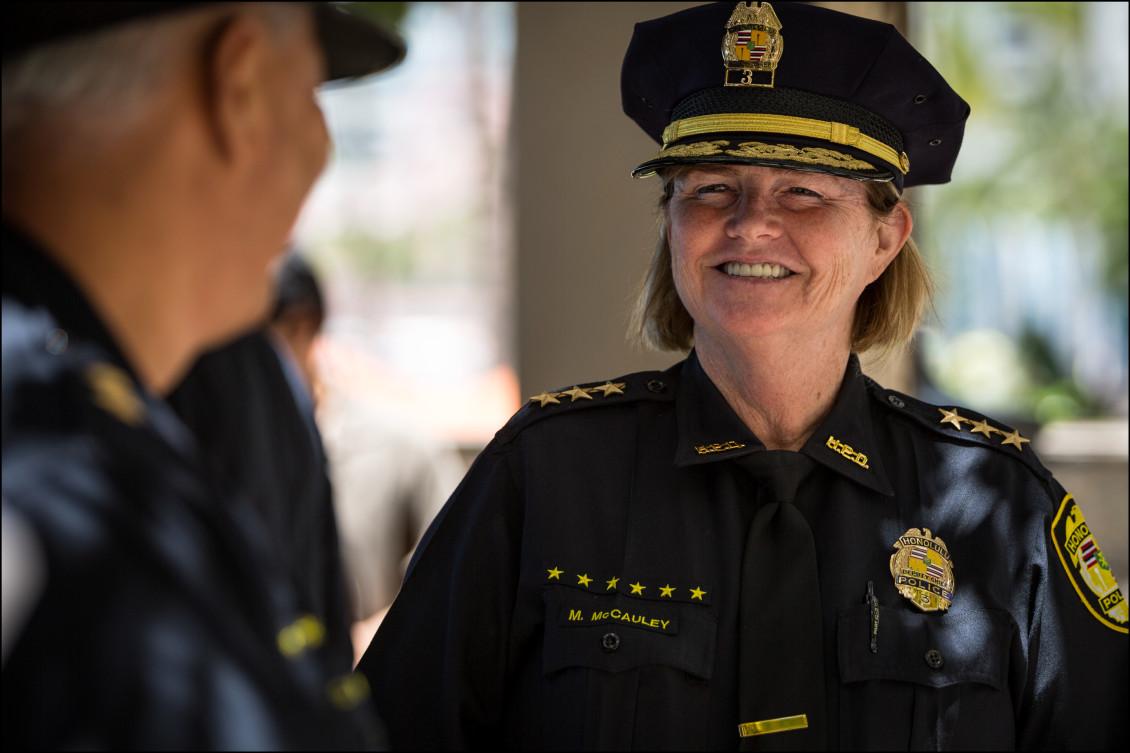 HPD Deputy Chief Marie McCauley