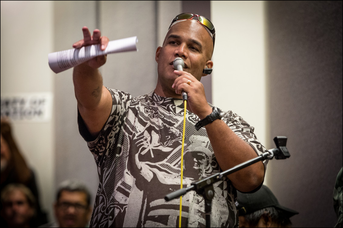 In June 2014, DeMont Conner, who is half Native Hawaiian, spoke to a U.S. Department of the Interior panel during a public meeting on whether the United States should establish a government-to-government relationship with Hawaii's indigenous community.