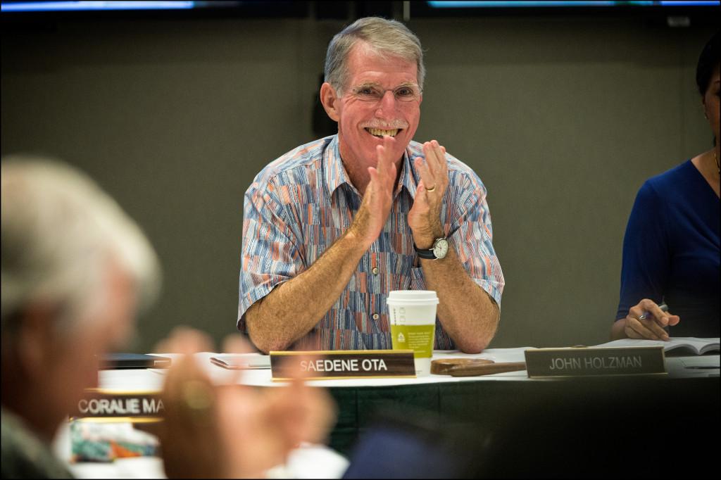 UH Regents Chairman John C. Holzman