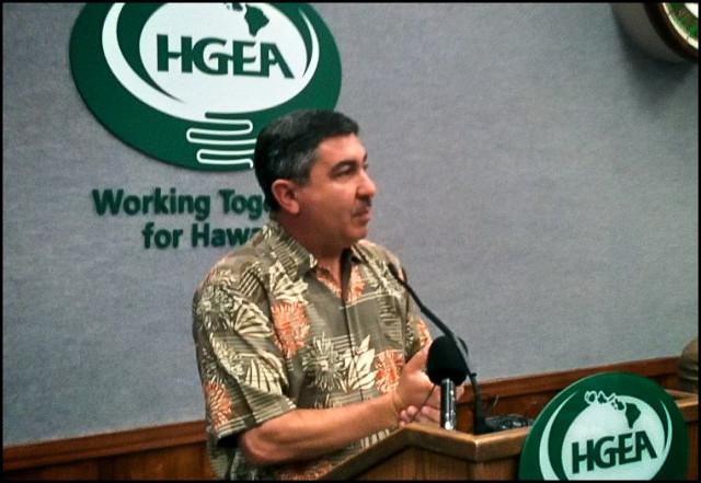 HGEA Executive Director Randy Perreira