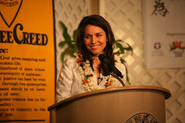 Tulsi an 'Outstanding Young Person'