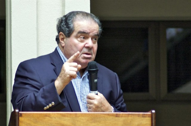 The late U.S. Supreme Court Justice Antonin Scalia during a visit to Honolulu in 2014.
