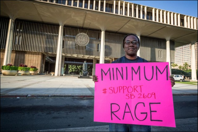 The Legislature voted in 2014 to gradually increase the minimum wage to $10.10. Given workers' low buying power in the islands, the state should consider a greater increase.