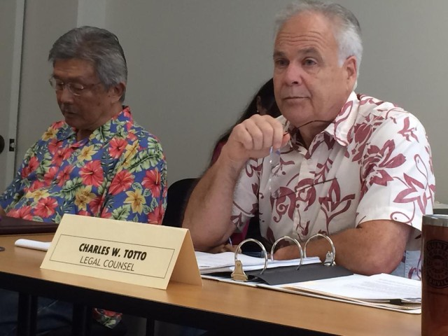 Chuck Totto, Honolulu Ethics Commission