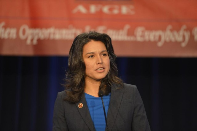 Gabbard at Civil Rights talk
