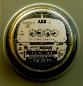 Electric meter / Electricity meter