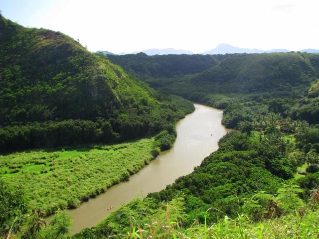 Wailua River on Kauai