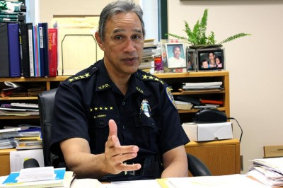 Kauai Police Chief Darryl Perry is pushing for more police accountability in Hawaii by implementing the first body camera program in the state.