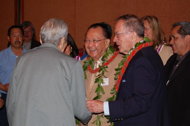 Sens. Dan Inouye and Ted Stevens