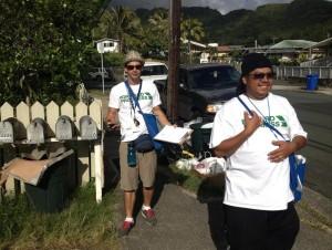 PRP Canvassers in Honolulu