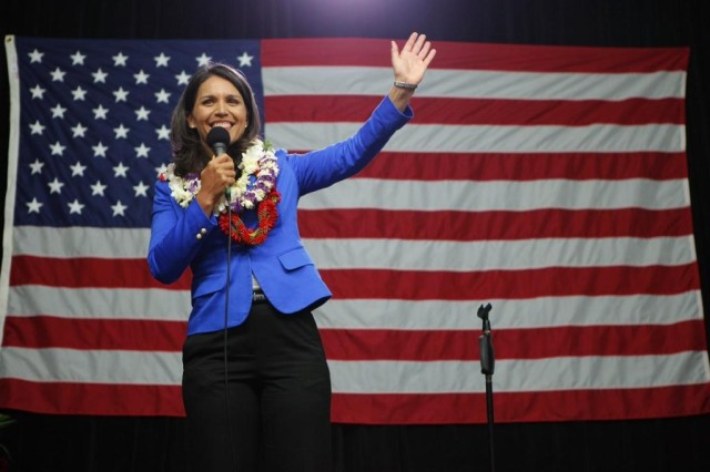Many believe U.S. Rep. Tulsi Gabbard has aspirations beyond the House.