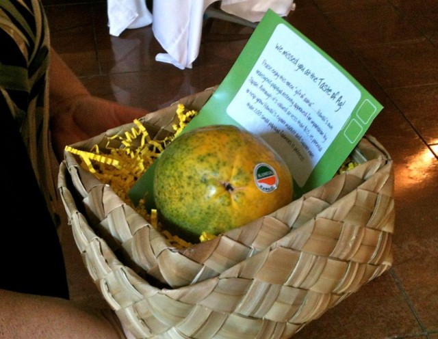 Taste of Ag papaya gmo
