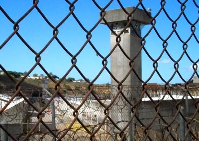 Halawa prison tower