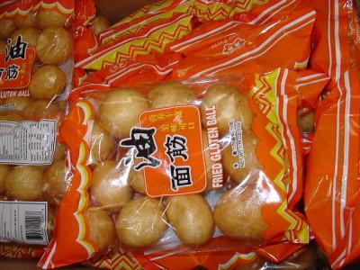 Gluten balls food