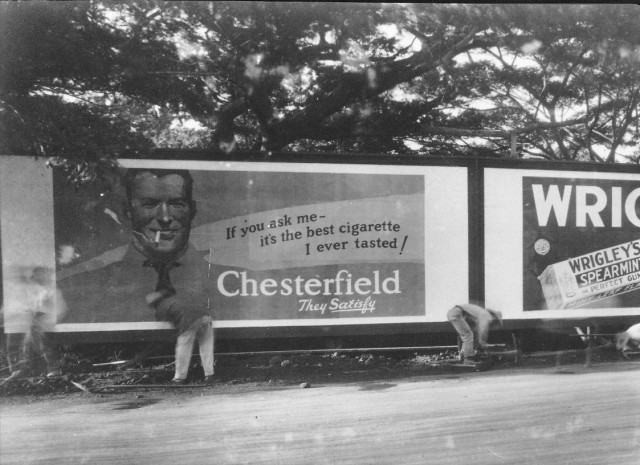 Hawaii billboards 1920s Chesterfield