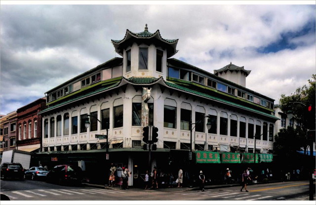 The Wo Fat Building in Chinatown