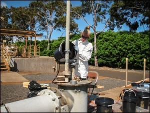 Lahaina Sewage Treatment Plant