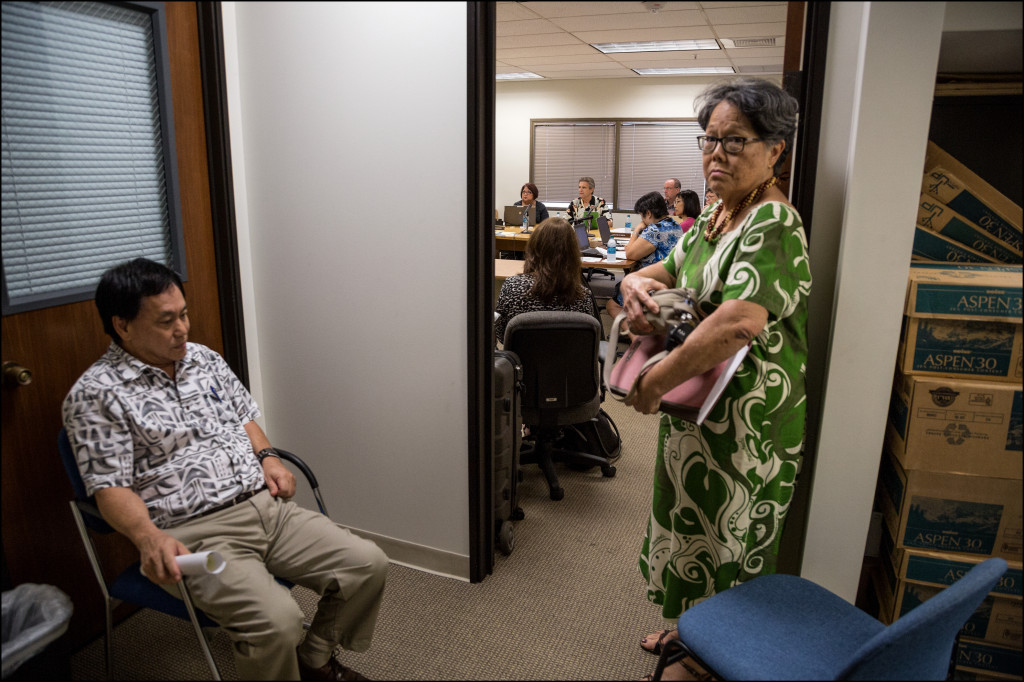 Hawaii State Ethics Commission meeting attorneys