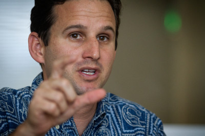 U.S. Sen. Brian Schatz at Civil Beat editorial board
