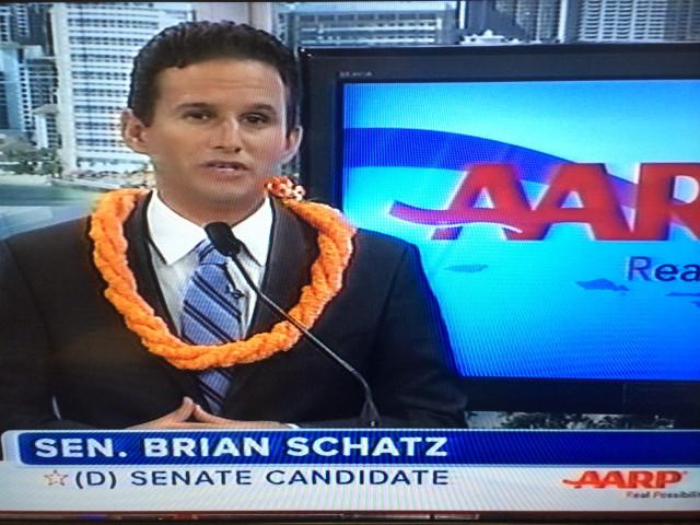 Brian Schatz KHON senate debate