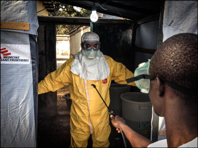 Preventing the spread of the Ebola Virus