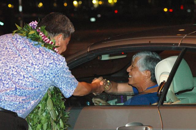 Takai and driver