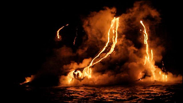 Lava Hawaii Island