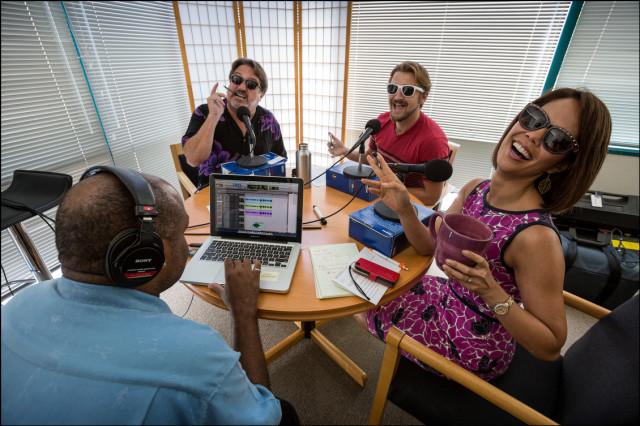 Podcast Mike Webb, Chad Blair, Nick Grube and Mahealani Richardson.