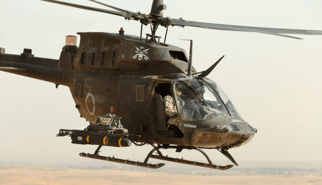 U.S. Army helicopter in Iraq, 2007