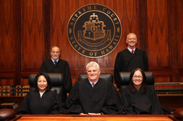 The Hawaii Supreme Court 2014