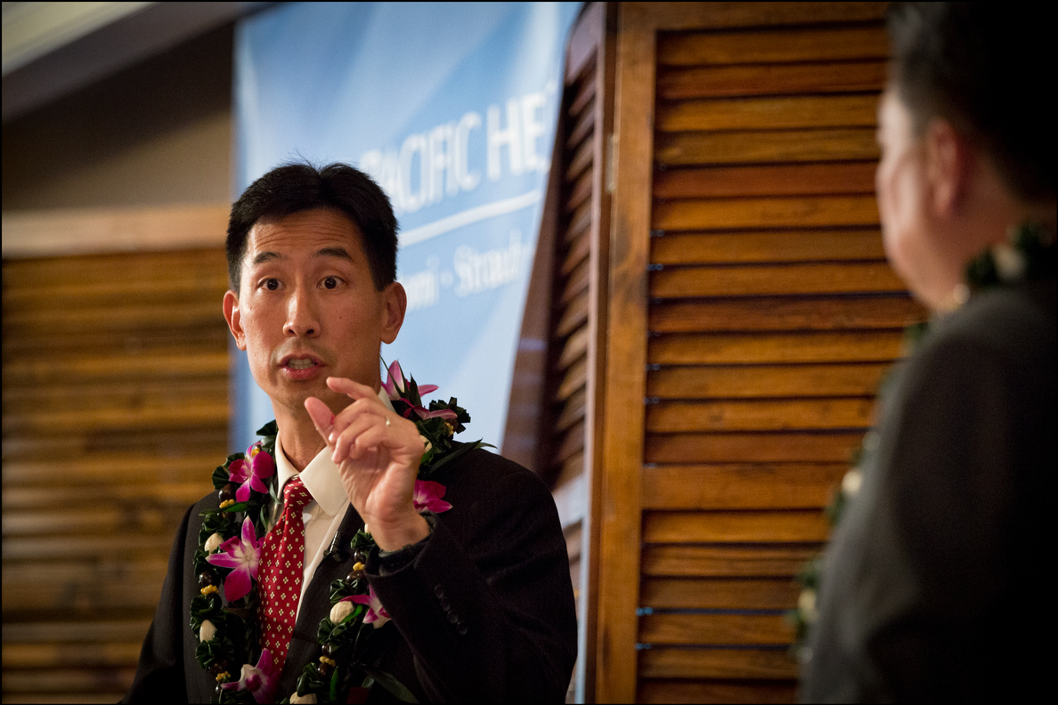 Charles Djou wants an exemption for Hawaii from  the Jones Act, which requires U.S.-built ships with U.S. crews to provide shipping between U.S. ports. Mark Takai isn't so sure.