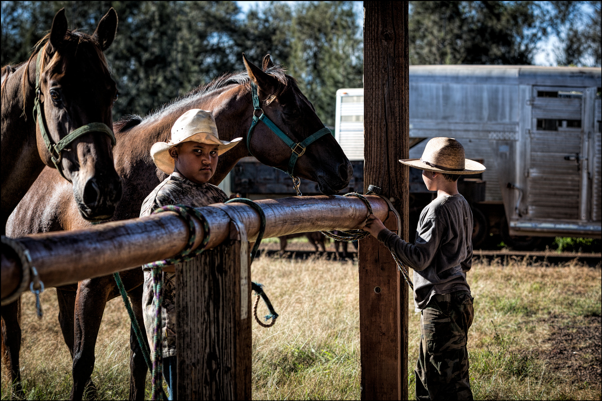 Ranching is a way of life for keiki whose families work for Hawaii's cattle operations.