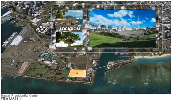 Obama library in Kakaako