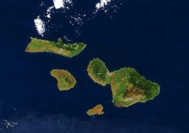 Maui County —Molokai, Lanai, Maui and Kahoolawe.