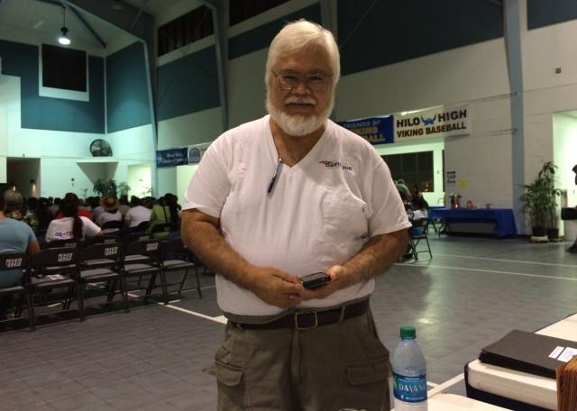 Glenn Shiroma of Hilo