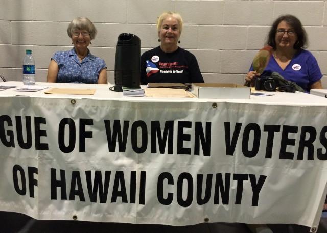 LWV Hawaii County