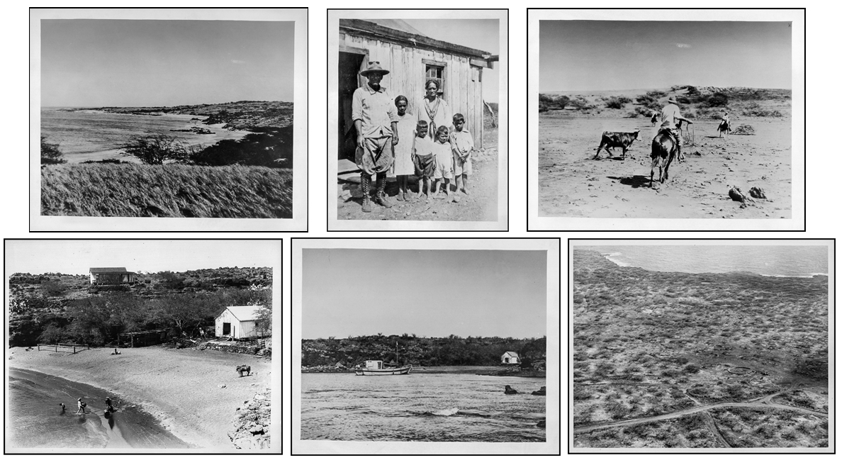 Archival images of Kahoolawe from the Hawaii State Archives.