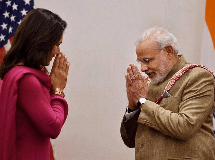 Gabbard and Modi