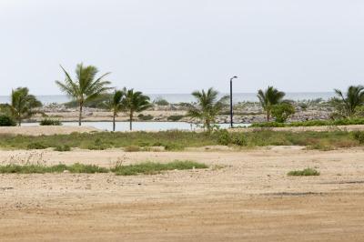 Haseko lagoon, makai