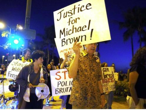 Honolulu Ferguson protest