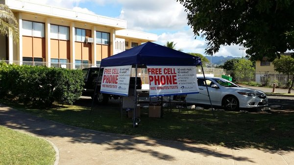 Blue Jay Wireless tent