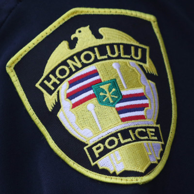 Honolulu Police Dept shoulder patch1