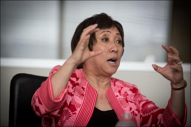 Former Congresswoman Colleen Hanabusa