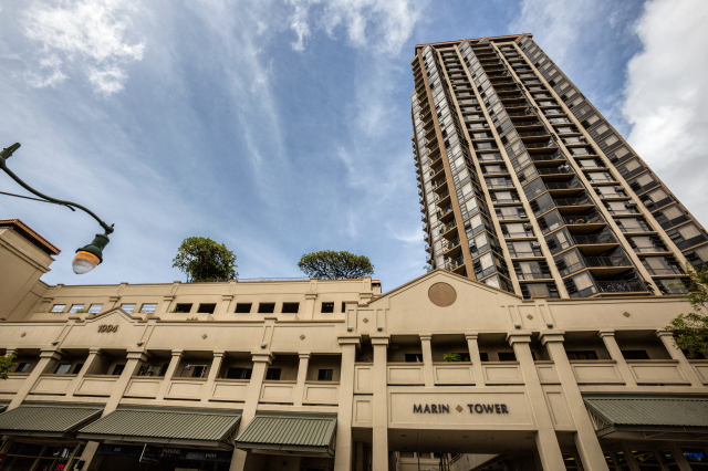 Marin Tower is one of Honolulu's affordable housing projects. But thousands of residents need help to be able to afford a place to rent.