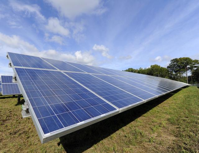 Paradise Solar Energy Center in New Jersey on September 26, 2011