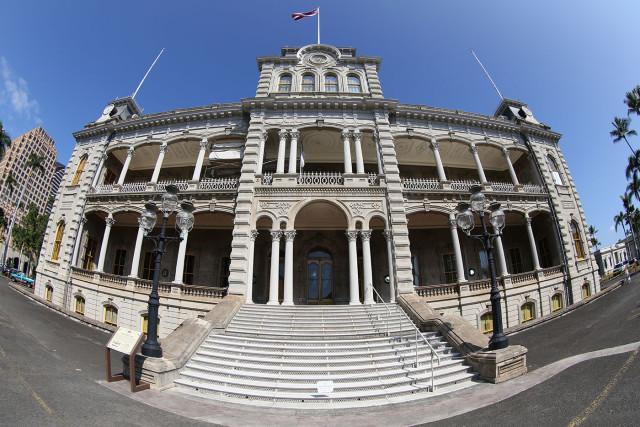 Iolani Palace. 28 jan 2015. photograph Cory Lum/Civil Beat