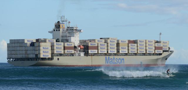 matson interisland container shipping